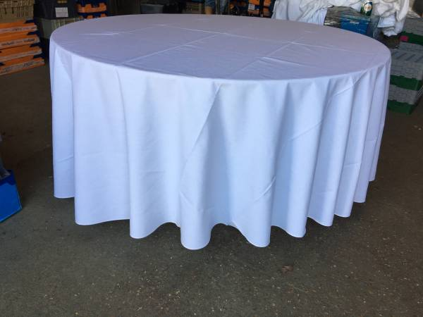 "120"" Round Tablecloths"