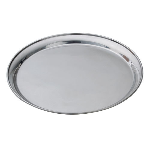 """16"""" Stainless Steel Tray round"""