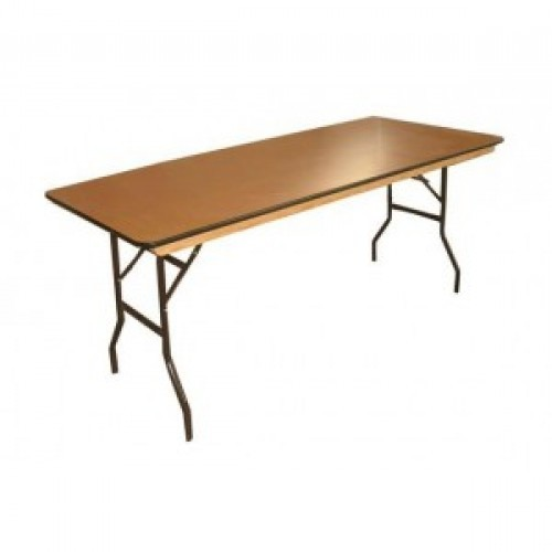 6ft x 2ft 6' Wooden/Trestle Table