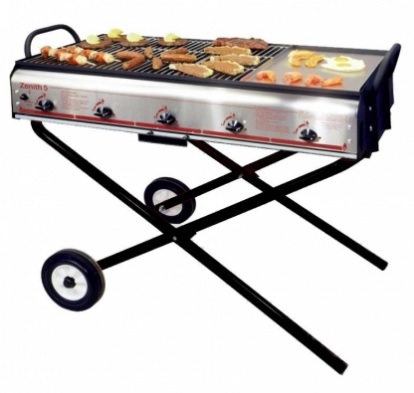5ft Gas Barbecue - Griddle Style *