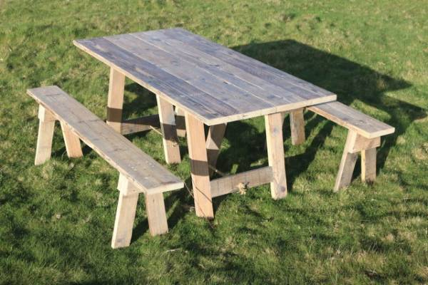 6ft x 3ft Rustic Table