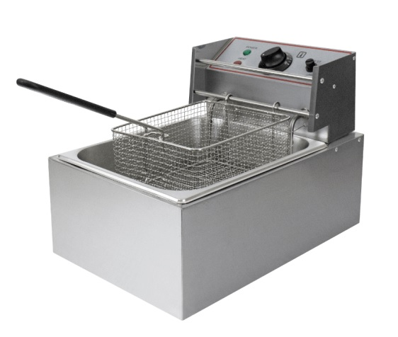 Single Table Top Deep Fat Fryer, 13 amp