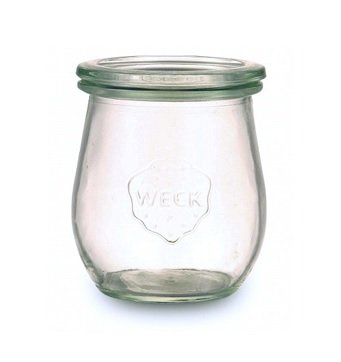 Glass Weck Pot with lid- 220ml