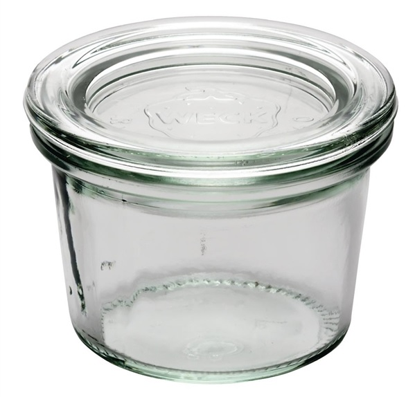 Glass Weck Pot with lid- 80ml