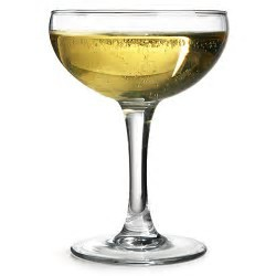 Champagne Saucers 180ml