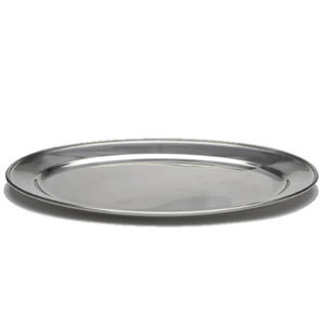 "Stainless Steel 20 - 24"" Oval Flat / Salver"