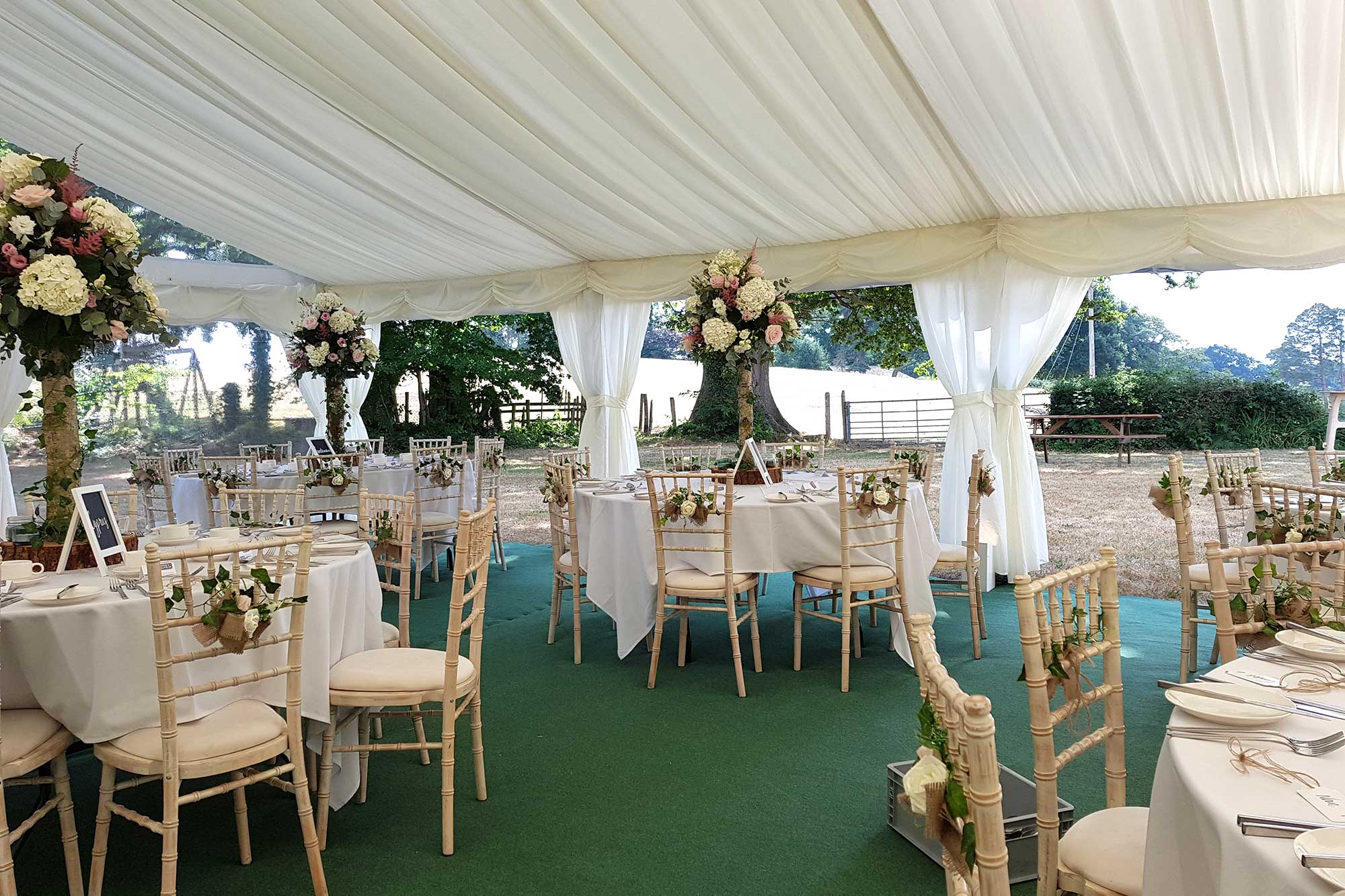 Wedding Catering Equipment & Furniture Hire Southampton